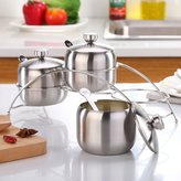 FSHFK Stinless steel spice box/ Koren select Spice jr/ the kitchen slt shker set/Cretive gourmet pot three-piece suit