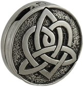 Zeckos Lead Free Pewter Reversible Celtic Heart Love Locket Pendant