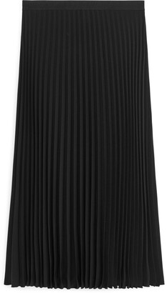 Arket Pleated Midi Skirt