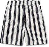 Haider Ackermann - Striped Mohair Shorts