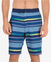 Speedo Men's Striped Swim Trunks