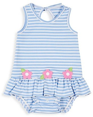 Florence Eiseman Baby Girl's Striped Bubble Romper
