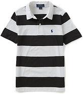 Ralph Lauren Big Boys 8-20 Wide-Stripe Short-Sleeve Polo Shirt
