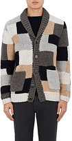 Barena Venezia Men's Patchwork Wool Cardigan