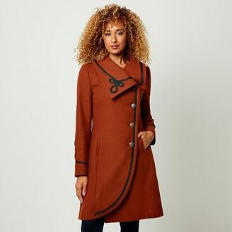 Joe Browns High-Neck Buttoned Coat