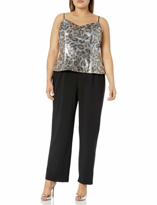 Adrianna Papell Women's Sequin Jumpsuit