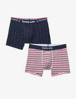 Tommy John Cool Cotton Stars & Stripes Trunk Set
