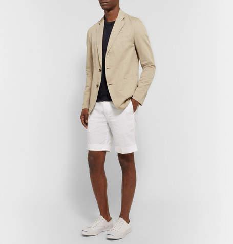 Officine Generale Garment-Dyed Cotton-Jersey T-Shirt