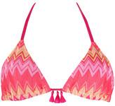 Kiwi Fuchsia Triangle Swimsuit Melly Polly PINK