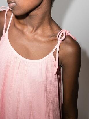 HONORINE Lilou sleeveless tiered midi dress