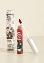 theBalm Cosmetics The Balm Cosmetics In No Time Matte Liquid Lipstick in Dark Red