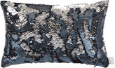 Aviva Stanoff Two Tone Mermaid Sequin Cushion - Solana - 30x45cm