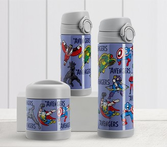 Pottery Barn Kids Marvel Glow-in-the-Dark Avengers Hot & Cold Container