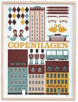 ferm LIVING Copenhagen Poster