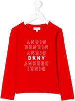 DKNY long sleeve printed T-shirt