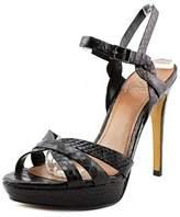 Vince Camuto Jessamae Women Open Toe Leather Platform Sandal.