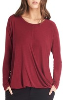 Michael Stars Women's Faux Wrap Top