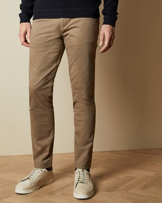 Ted Baker SNCETT Tall slim fit cotton chinos