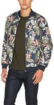 Lindbergh Men's Quilted Zip Jacket