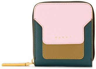 Marni small colour-block wallet