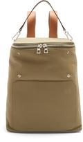 Loewe Goya leather-trimmed canvas backpack