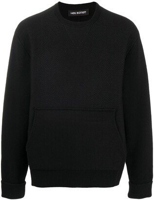 Neil Barrett Travel knitted sweatshirt