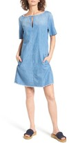 AG Jeans Women's Alton Chambray Shift Dress