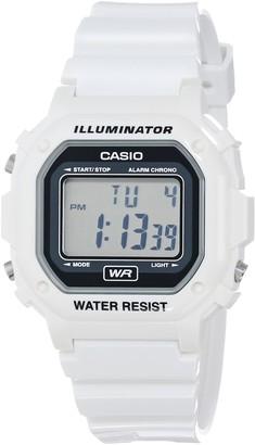 Casio Unisex F-108WHC-7ACF Classic White Resin Band Watch