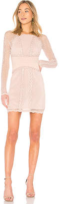 Free People Mixed Mesh Bodycon
