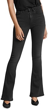 Hudson Holly High Rise Flared Jeans in High Hopes