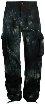 Off-White Tie-Dye Contour Cargo Pants