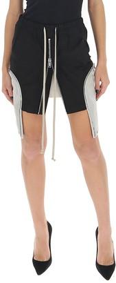Rick Owens Zipped Pocket Mini Skirt
