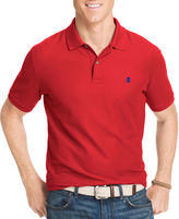 Izod Short Sleeve Solid Cotton Polo Shirt