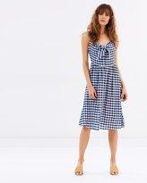 Dorothy Perkins Gingham Bardot Dress
