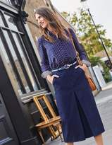 Boden Mira Denim Skirt