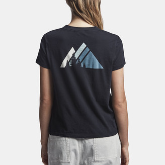 James Perse Y/Osemite Mountain Graphic Tee