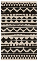 "Surya Frontier Area Rug - Black/Ivory, 3'6"" x 5'6"""