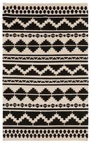 "Surya Frontier Area Rug - Black/Ivory, 3'6"" x 5'6"""