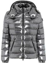 Moncler Bady metallic down jacket