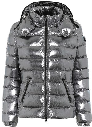 Moncler Bady metallic down jacket