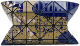 Bao Bao Issey Miyake geometric pattern clutch bag