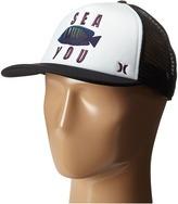 Hurley Printed Trucker Hat