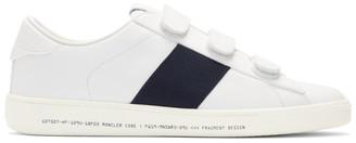 MONCLER GENIUS 7 Moncler Fragment Hiroshi Fujiwara White Leather Franz Scarpa Sneakers