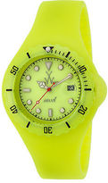 Toy Watch ToyWatch JYD06YL Unisex Jelly Disco Neon Yellow Silicone & Dial Neon Yellow