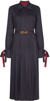 Evi Grintela Elegance belted shirt dress