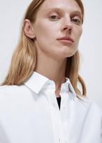 Jil Sander white clotilde ls blouse