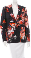MSGM Printed Double-Breasted Blazer w/ Tags