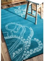 nuLoom Handmade Octopus Tail Wool Kids Rug (8'6 x 11'6)