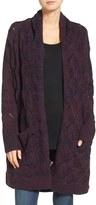 Hinge Women's Texture Stitch Open Cardigan