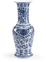"Chelsea House 12"" Kowloon Porcelain Vase - Blue"